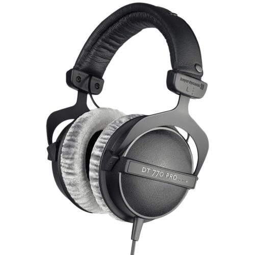 The Beyer Dynamic DT770 Headphones.